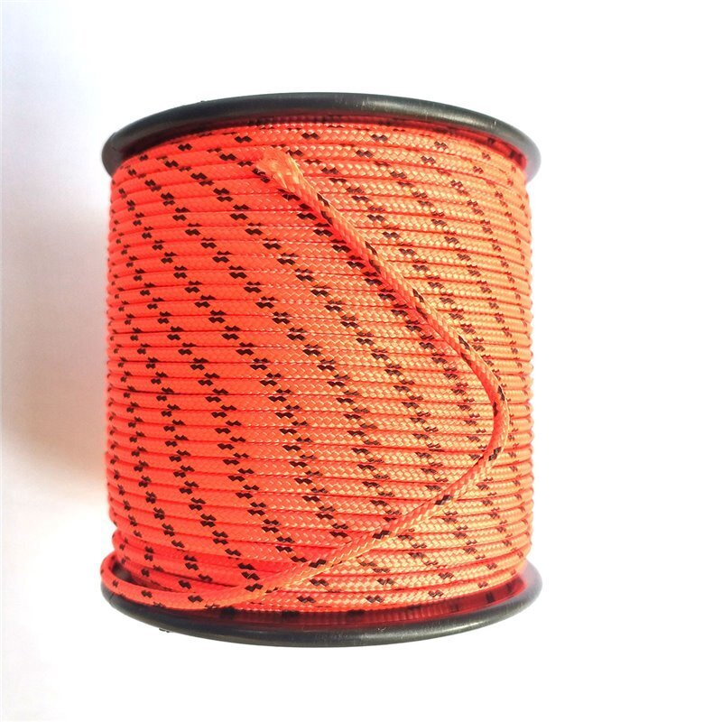 Spearfish линия за макара Dyneema® Cored fluo 1,80 mm 50 m